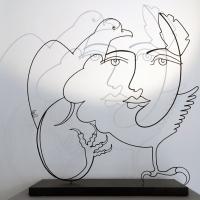 l'aigle-noir-2-omre-shadow-sculpture-lor-laure-simoneau-aigle-noir-paris-artiste-sculpteur-portrait-femme-picasso-dessin-wire-fil-de-fer-inspiration