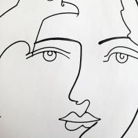 l'aigle-noir-3-sculpture-lor-laure-simoneau-aigle-noir-paris-artiste-sculpteur-portrait-femme-picasso-dessin-wire-fil-de-fer-inspiration