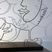 l'aigle-noir-6-ombre-shadow-sculpture-lor-laure-simoneau-aigle-noir-paris-artiste-sculpteur-portrait-femme-picasso-dessin-wire-fil-de-fer-inspiration