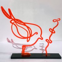 2-plexi-orange-noir-colombe-plexiglass-lor-laure-simoneau-oiseau-sculpture-design-serie-decoration