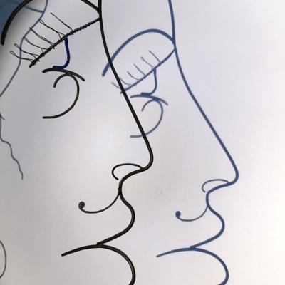 Hera-ombre-4-deesse-sculpture-wire-fil-de-fer-laure-simoneau-portrait-femme-monumentale-art-contemporainartiste-sculpteur-woman-personnage-grece-grecque-mariage-amour
