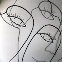 La-demoiselle-au-chapeau-5-LoR-art-sculpture-grand-palais-wire-portrait-modigliani-femme-poesie-romantisme