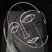 Le-bruite-de-la-mer-3-laure-simoneau-les-halles-paris-ecoute-sculpture-fil-de-fer-LoR-art-3D
