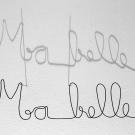 Ma-belle-mots-doux-phrase-ecriture-fil-de-fer-wire-lor-laure-simoneaumessage-amour-cadeau-noel-amitie-amoureux