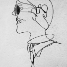 Mannequin porte lunettes