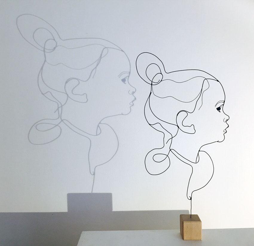 Atelier LOR | Sculptures fil de fer